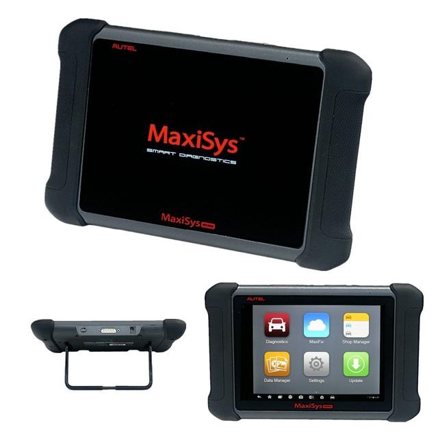 100% Original auto ms906 obd2 ferramenta de diagnóstico autel maxisys scanner scanner de diagnóstico para o carro de 8 polegadas Frete Grátis