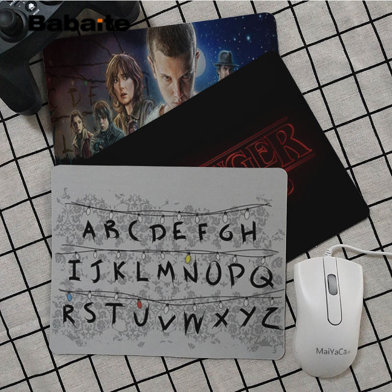 Babaite Boy Gift Pad Stranger Things Office Mice Gamer Soft Mouse Pad Top Selling Wholesale Gaming Pad Mouse