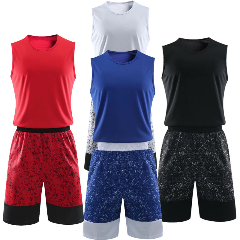 Kids Round Neck Basketball Sets Boys Breathable Jerseys Youth Running Kits Sports Customize Any Logos And Name
