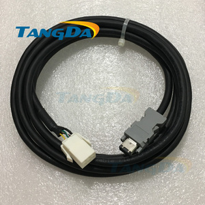 Image 1 - MFECA0030EAM 2/3/5/8/10 Encoder feedback cable for pana sonic 750w servo motor MHMD082G1U MCDHT3520E A5 Wire for Panasonic A.