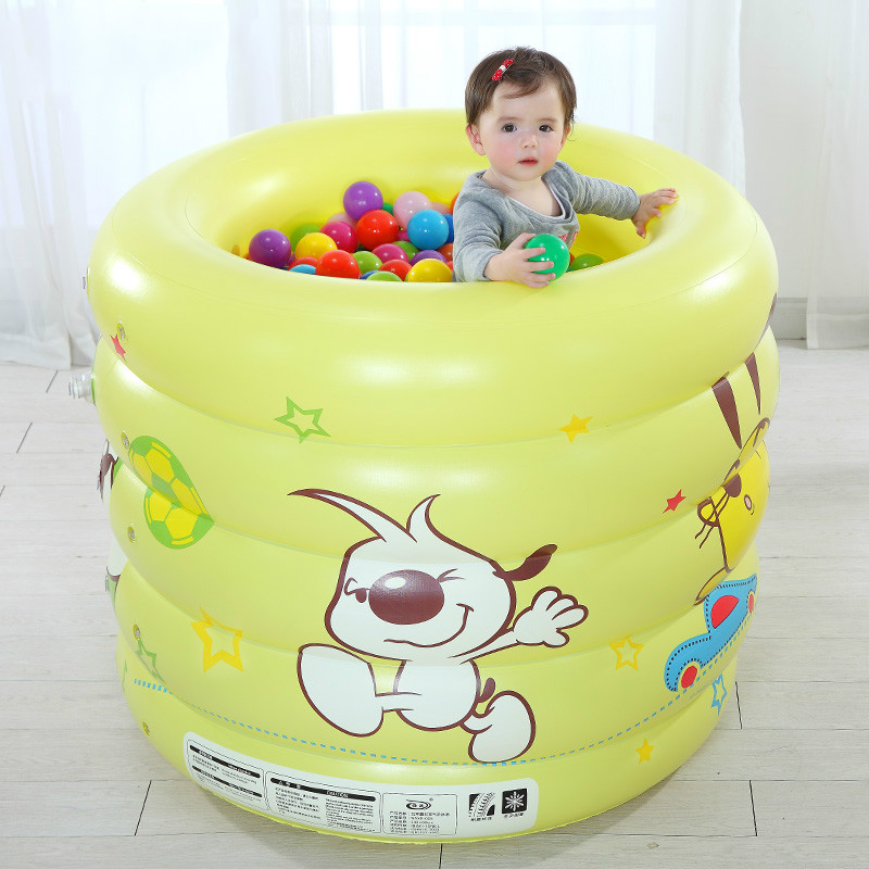 Thicken Environmental PVC Baby Swimming Pool Childrens Large Inflatable Pool for Babies Water Playing Baby Pool Gift Ocean BaC01 vilead new american stripe water hammock pvc sleep tents pool row pattern lounge inflatable air floating bed for beach swimming