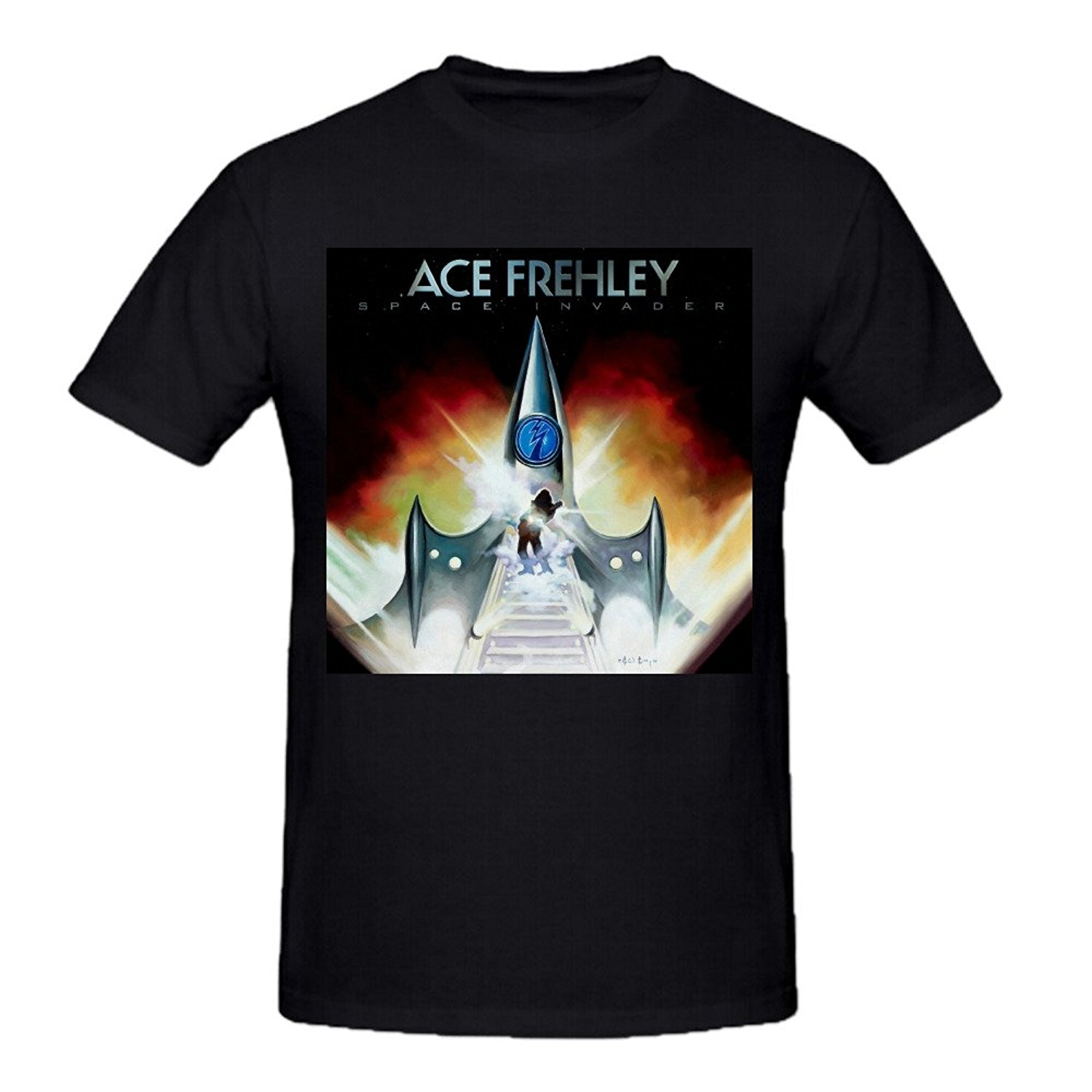popular free space invaders buy cheap free space invaders lots fashion t shirts ace frehley space invader black tee shirts for men man t