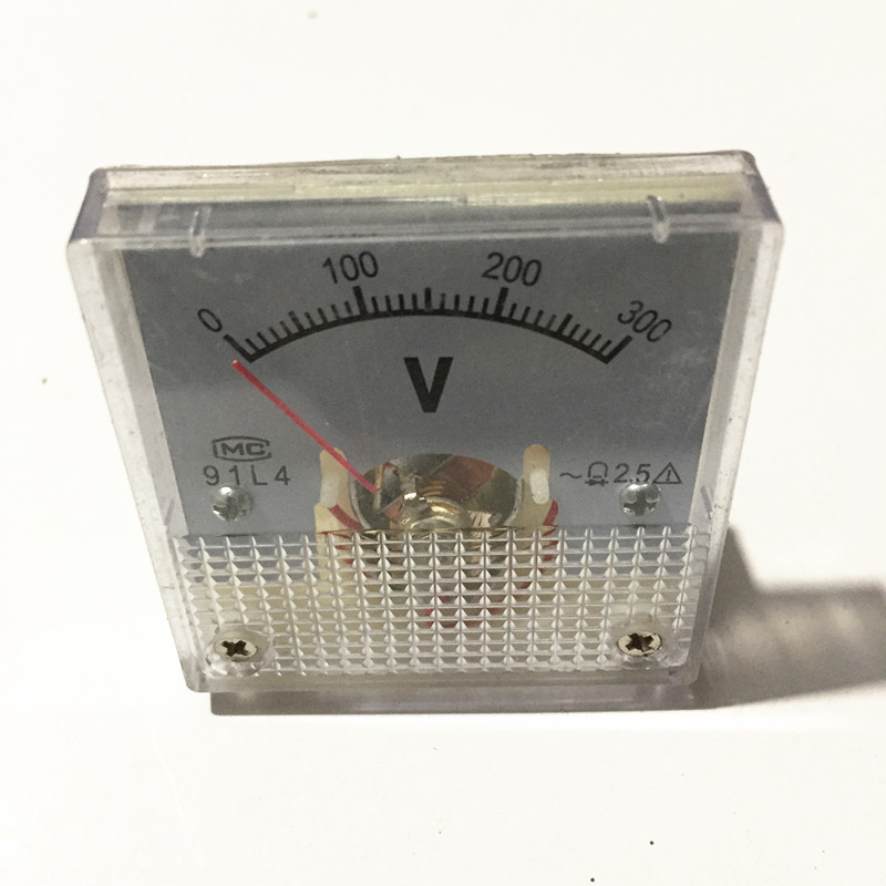 300V Voltmeter Small Square For Generator panel meter Gauge model 91L4 950F 152F 154F 168F 170F 188F 190F300V Voltmeter Small Square For Generator panel meter Gauge model 91L4 950F 152F 154F 168F 170F 188F 190F