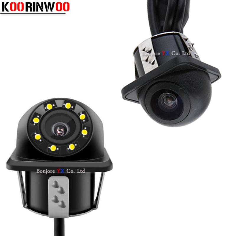 Koorinwoo HD CCD Camera Front cam Form HD CCD Car Rear View Camera Universal Car Reverse