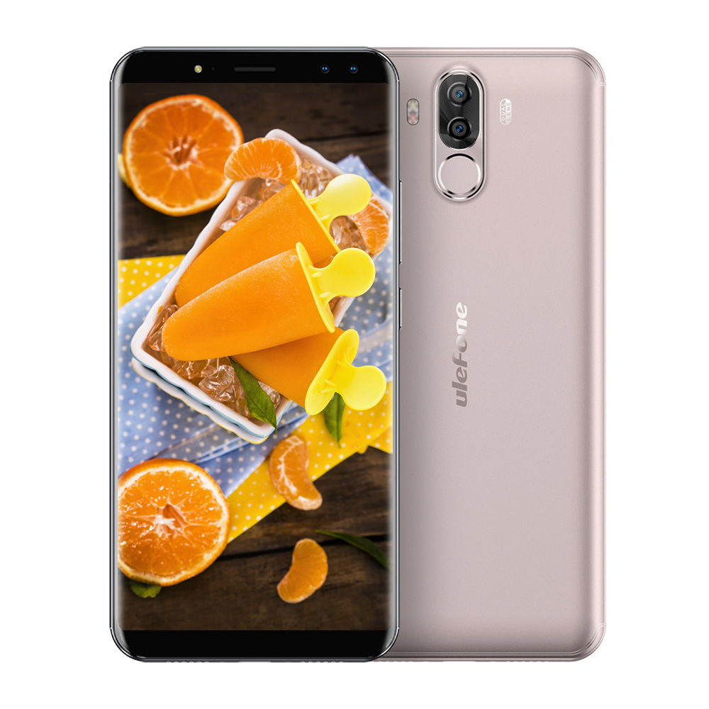 Ulefone Power 3S 4G Smartphone Android 7.1 6.0 Inch MTK6763 Octa Core 2.0GHz 4GB RAM 64GB ROM Quad Cameras Type-C CorningGorilla