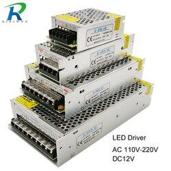 Источник питания, светодиодный драйвер постоянного тока 12 В, небольшой объем, одиночный трансформатор 5A, 15A, 25A, 3A, 12 В постоянного тока, импул...