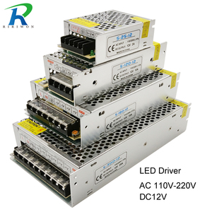 Power Supply LED Driver DC 12V Small Volume Single Transformer 5A 15A 25A 3A dc12v volt Output Switching led for LED Strip 5050(China)