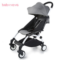 BABYYOYA 2 yoya Детские Коляски складной Марка перевозки автомобилей младенческой складной портативный коляска 2 в 1 каретки Babyzen Йо йо коляска