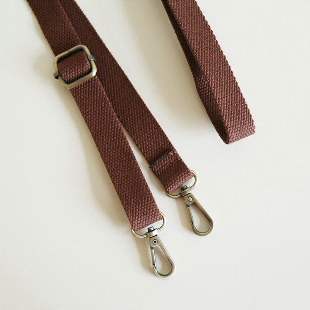 Clip On Webbing Handbag Handle Strap Shoulder Adjustable Crossbody Belt Replacement
