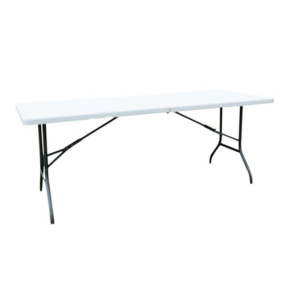 6' Folding Table Portable Plastic Indoor Outdoor Picnic Party Dining Camping Tables