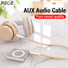 PZOZ Aux cable 3.5mm Jack audio cable 3.5 mm male to male for iphone 7