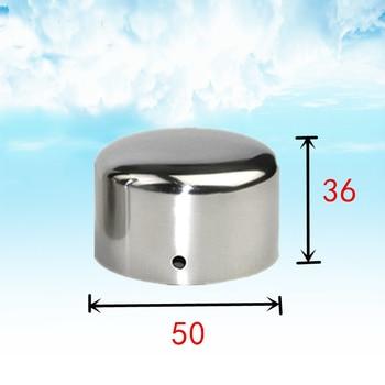 Pasamanos para escalera de 38mm y 50mm, accesorios del apoyabrazos de PVC, Accesorios para tubería, accesorios para 10 Uds