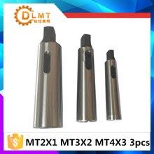 3 Morse Côn Tay Adapter MT1 Để MT2 MT2 Để MT3 MT3 Để MT4 Morse Côn Adapter Giảm Mũi Khoan tay Áo