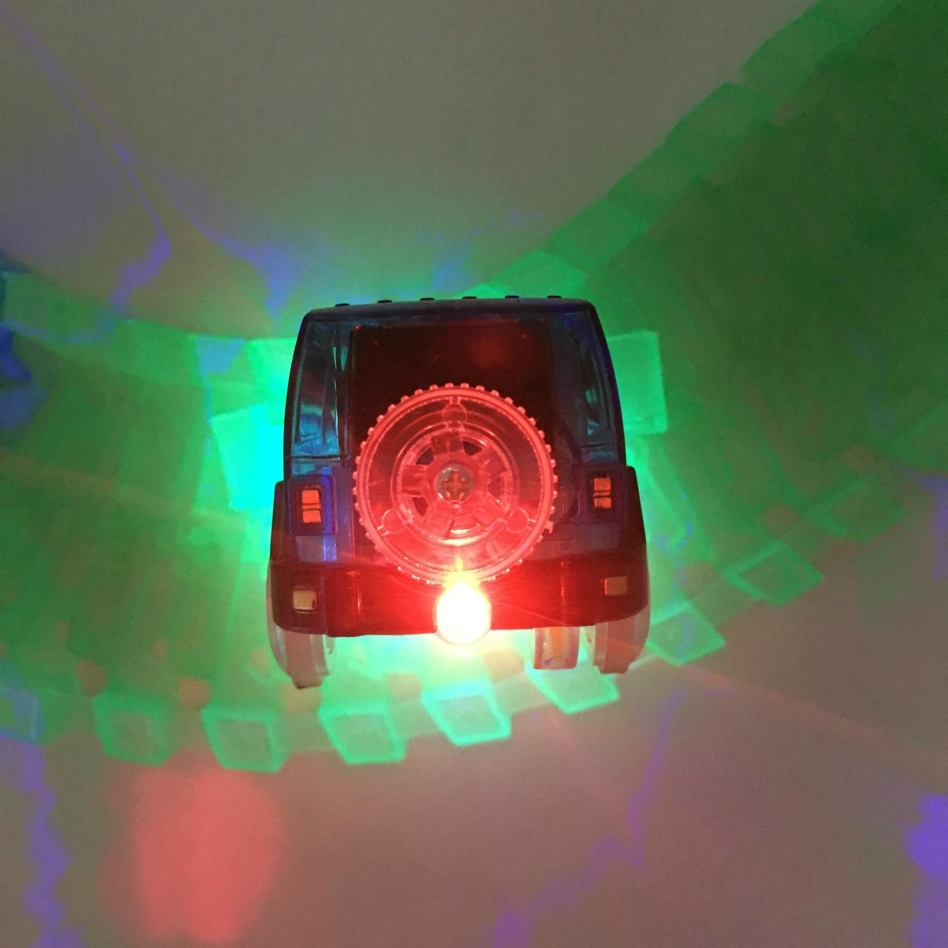 Image 5 - LeadingStar 1Pc Children LED Electric Car Toy for Glow Tracks Shining in the Dark Amazing Racetrack Race Car(Not Include Tracks)-in Diecasts & Toy Vehicles from Toys & Hobbies