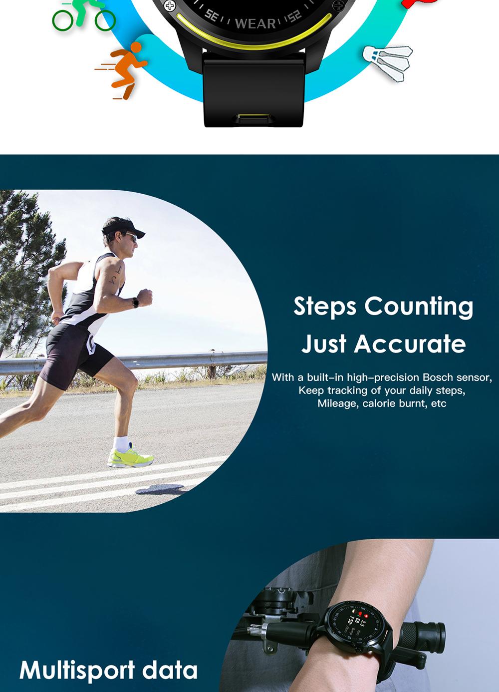 Reloj inteligente L8 IP68 para Hombre, Reloj inteligente resistente al agua con ECG presión arterial mediante PPG, relojes deportivos para fitness 8