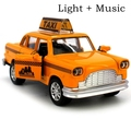 1:32 tire hacia atrás de aleación modelo de coche taxi car toys toys regalo clásico para niños niños niños brinquedos juguete vehículos de ingeniería herramientas