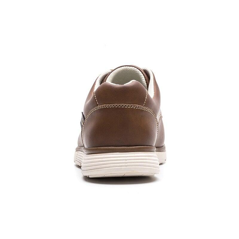 LINGGE Мужской обувь Высокое качество искусственная кожа Русский размер 39-46 кроссовки мужские Мужская повседневная обувь легкий кросовки мужские#IL007-2