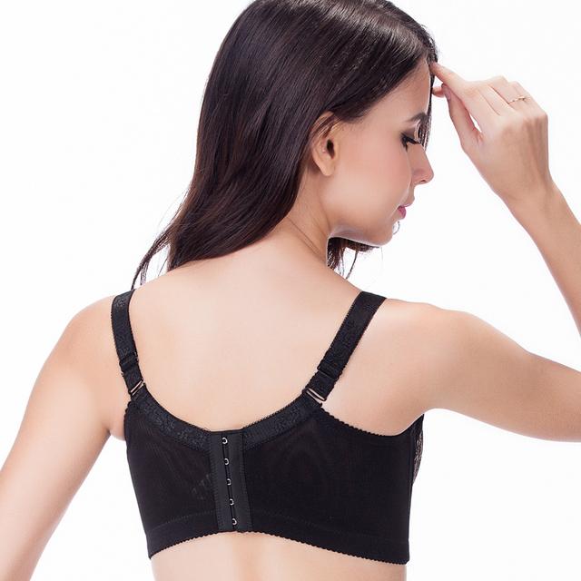 Women Sexy lace bra, big size Super Push Up bra,anti emptied brassiere, underwear Intimates lingerie  80 85 90 95 100 C D