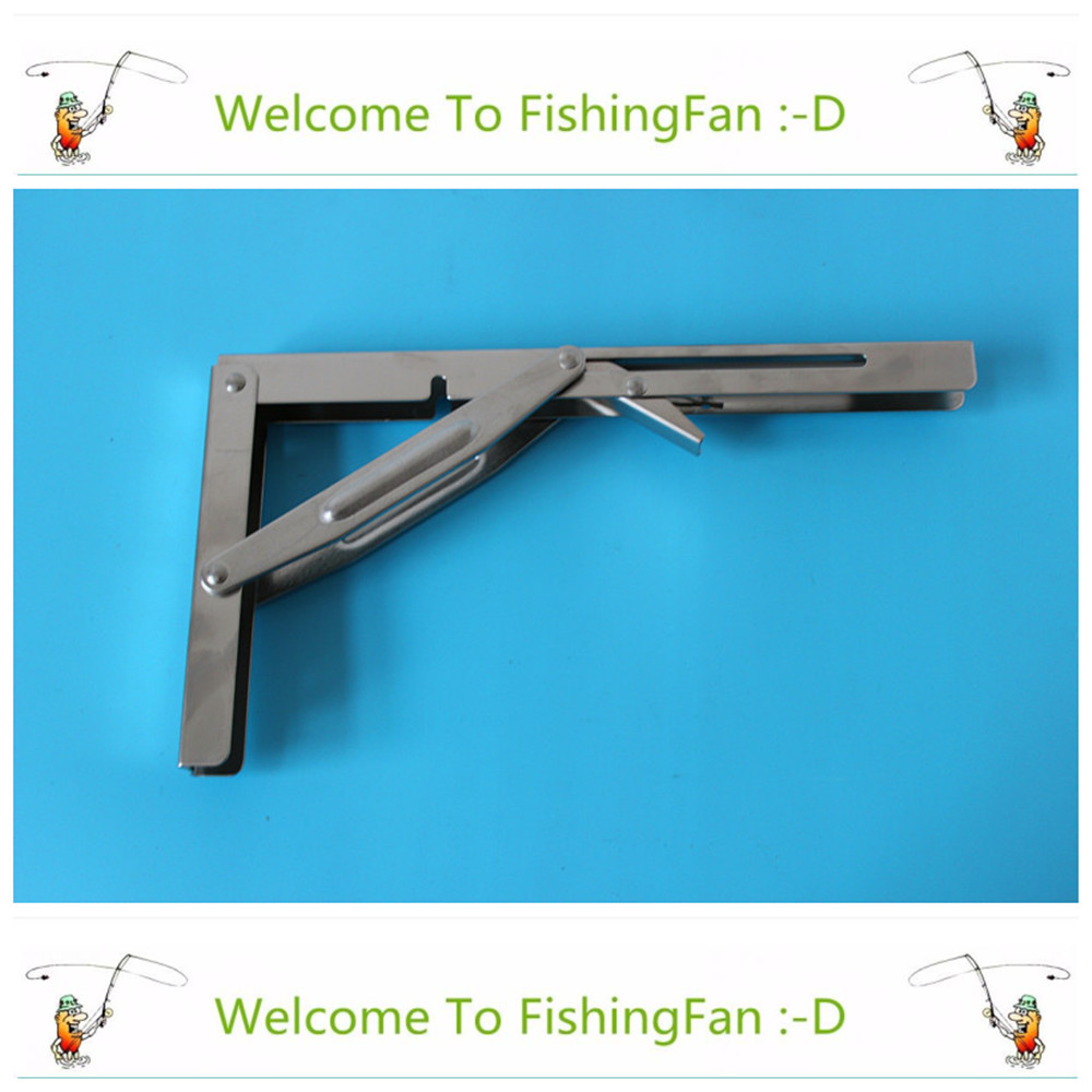 Automobiles & Motorcycles Careful Wall Mounted Folding Table Shelf Support Bracket Spring Pair Thicken Stainless Steel Table Bracket Marine Hardware
