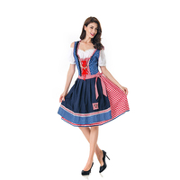 Women Lolita Dress Germany Bavaria Beer Section Dresses National Culture Carnival Maid Serve Sweet Loli Cosplay Costumes