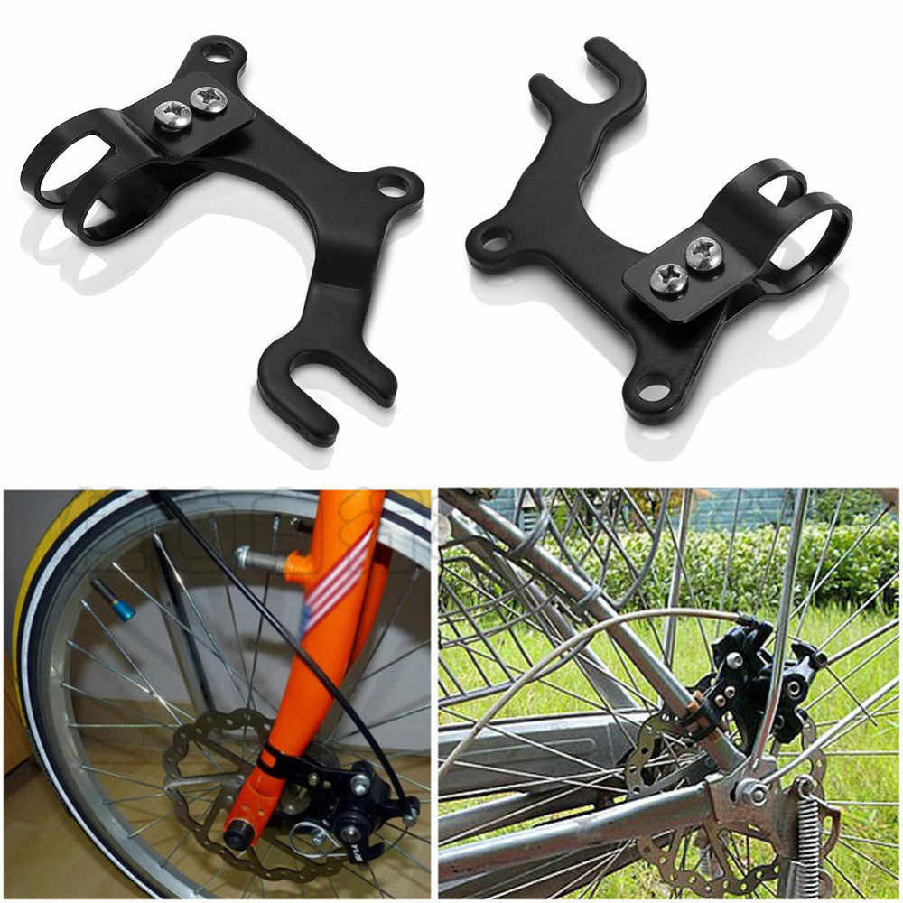 Bicycle Disc Brake Modification Bracket Frame Adapter Mounting Holder For Original Bicycles without Disc Brake