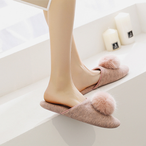 Image 2 - GKTINOO Spring Summer Women Home Slippers For Indoor Bedroom House Soft Bottom Cotton Warm Shoes Adult Guests Flats