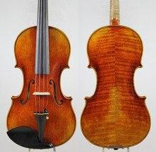 Guarnieri Ole Bull' 1744 cкрипка violino копия. «Вся Европейская древесина», лак для масла! лучшее исполнение! Бесплатная доставка, чехол, бант!
