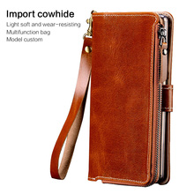 brand phone for iphone 6 7 case cell zipper bag iPhone Xr xs max handmade custom For 8