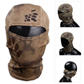 Fast Dry Multi-functional Hood Mask Hunting Scarf Camouflage Veil Mesh Breathable Chief Rattlesnake Full Face Cycling Multicam