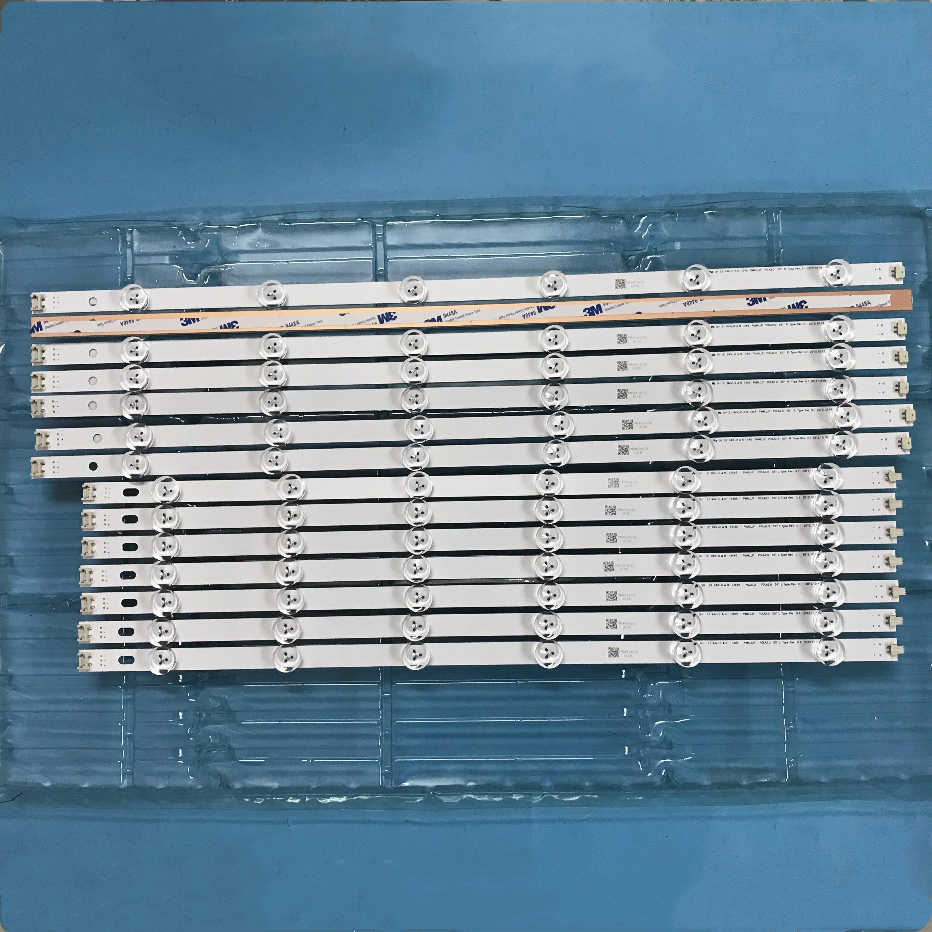 LED Backlight Lamp strip 12leds For LG 55 TV 55LN5700 LN54M550060V12 INNOTEK POLA2 0 55 Innotek