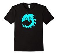 Maori Shark Skeleton Native Animal Folk Art T Shirt Good Quality Brand Cotton Shirt Summer Style