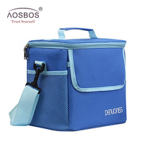 New Men Oxford AluminumThermal Lunch Bags For Women Adult Men Food Lunch Picnic Cooler Bag Insulated