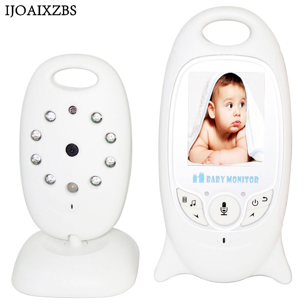 Wireless Baby Monitor 2 inch Color Video With Camera Electronic Security 2 Talk Nigh Vision IR LED Temperature Monitoring