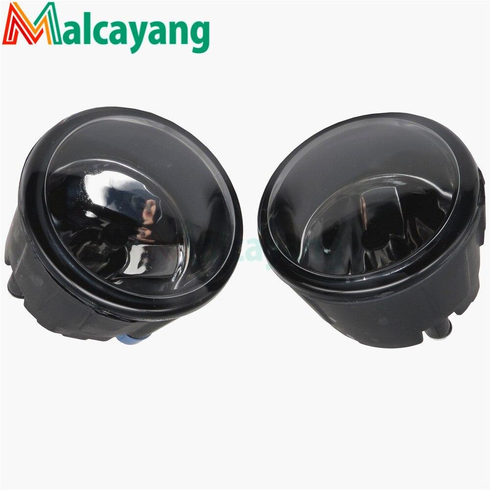 For NISSAN Tiida Saloon SC11X 2006-2012 Car styling Fog lights halogen lamps 1SET 26150-8990B for nissan tiida saloon sc11x 2006 2012 car styling fog lights halogen lamps 1set 26150 8990b