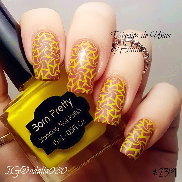 1pc 15ml Newly Light Bright Yellow Color Stamping Polish Born Pretty ...