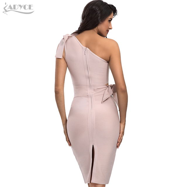 Casual Red Black Apricot One Shoulder Tassel Celebrity Runway Party Dresses Vestidos 2