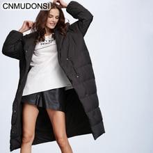 Damskie zimowe ocieplane kurtki modna kurtka gruby ciepły płaszcz pani bawełniana Parka kurtka z długim jaqueta zima kurtka z kapturem 2020