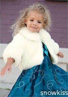 little girls faux fur shrug other dresses dressesss