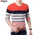 2016 High Quality Casual Sweater Men Pullovers Brand winter Knitting long sleeve v-Korean Slim Neck slim Knitwear Sweaters