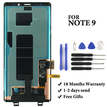 цена на Best quality for Note 9 lcd for N960 N950F N960D N960DS display 100% test good quality mobile phone assembly replacement
