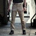 Hombres Del Ejército IX7 Pantalones Tácticos Pantalones Multi Del Bolsillo de Los Hombres de Combate Del Ejército Militar Pantalones Pantalon Homme Pantalones Cargo Casual Para Los Hombres