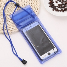 Universal Waterproof Triple Sealed Mobile Phone Bag Pouch Cases Cover Strong Proctection for Cell