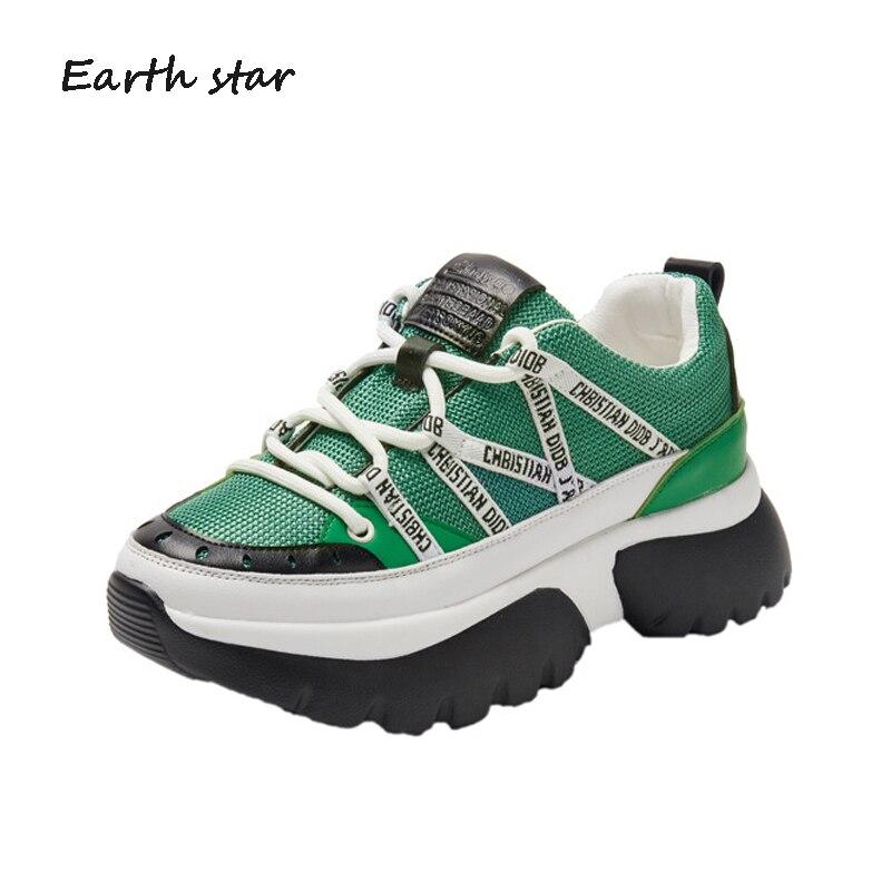 Белые туфли женские повседневные кроссовки на платформе модные брендовые zapatillas mujer Весна Новый chaussures femme дамы footware B