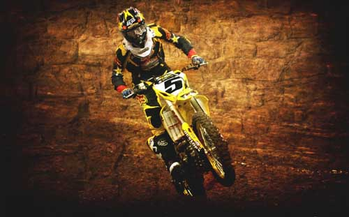 "MOTOCROSS DIRT BIKE JUMP SPORT PHOTO ART PRINT POSTER 21/""x13/"" 004"