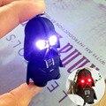 Modo 3D criativa dos desenhos animados guerra estrela LED Night Light Nightlight figuras de ação Ironman homem aranha Black Knight Darth Vader chaveiro