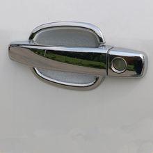 цена на ABS chrome door handle door bowl for CHEVROLET TRAX 2014,Free shipping car-styling plating trim protective film cover stickers
