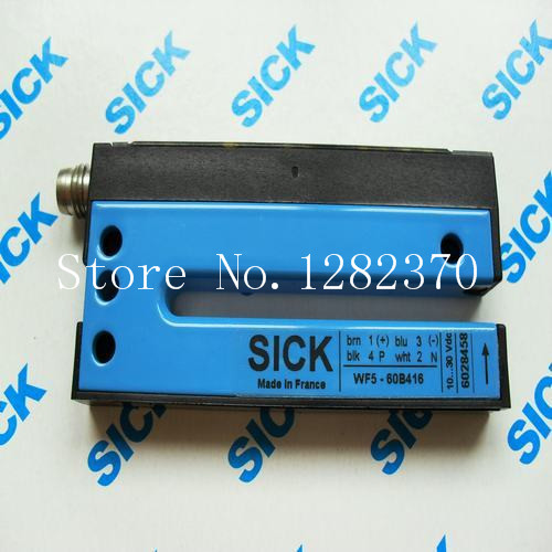 [SA] new original authentic spot SICK photoelectric switch WF5-60B416 original authentic german sick shike wt2s n131 photoelectric switch percussive drill on sale