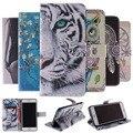Carteira de alta qualidade stand capa de couro flip case para apple iphone 4 4s se 5 5S 7 além de 5c 6 6 s tampa do telefone móvel e cartão titular