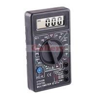LCD Electronic Digital Voltmeter Ammeter Multimeters AC/DC Meter Tester Checker Yellow/Black