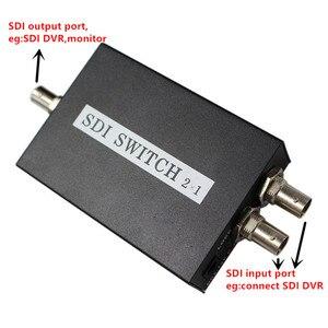 Image 2 - SDI Anahtarı 3G/HD/SDI 2x1 Switcher ile BNC Dişi Destek 1080P Dağıtım Genişletici projektör için monitörlü kamera Ücretsiz Kargo